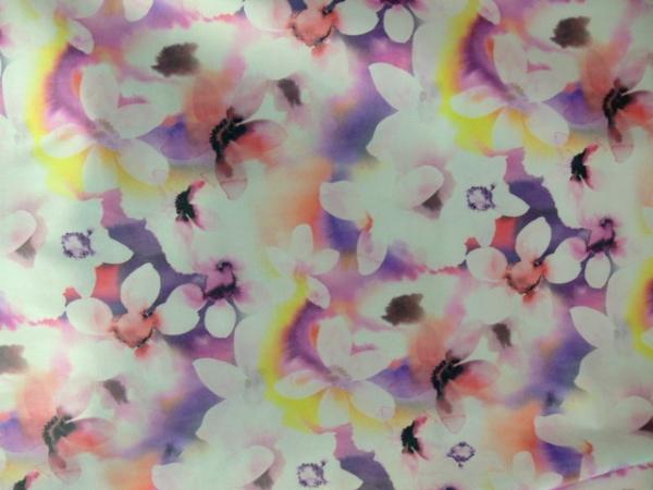 Nyomott mintás pamut szatén - Pamut szatén  52344d91bb